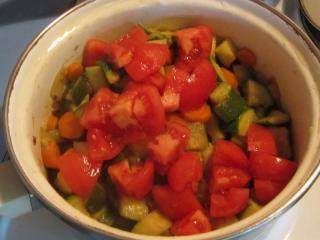 Dusená zelenina
