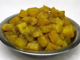 Kurkumové zemiaky