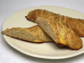 Chlebové bryndzové pečivo