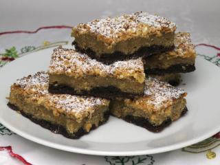 Arašidový koláčik