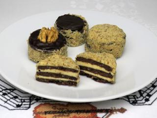 Orechové maslové tortičky-dordoletky
