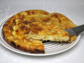 Balkánsky koláč z lístkového cesta