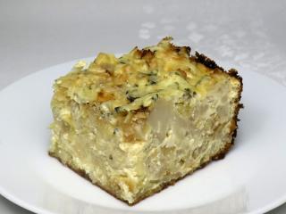 Zapekaný karfiol so zemiakmi a syrom