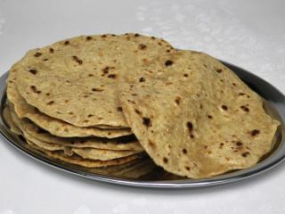 Indické chlebové placky Čapátí