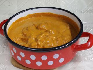 Indické maslové kura
