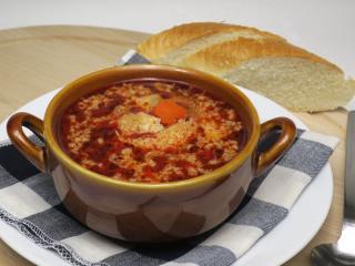 Teľacia držková polievka