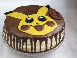 Dekorácia na tortu Pikachu