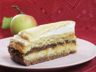 Prekladaná jablková torta