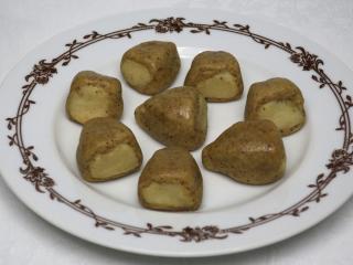 Marcipánové trojuholníčky biberle