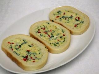 Bryndzové plnené chlebíčky