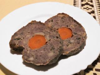 Hovädzia sekaná s mrkvou