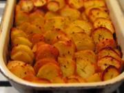 Zapekané zemiaky s pórom
