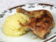 Pečené kura s kašou