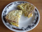 Chlieb v syrovom vajci