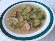Cuketovo - fazuľová polievka