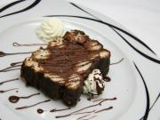 Jemný čokoládový rez