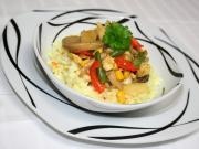 Farebné mäsovo zeleninové soté