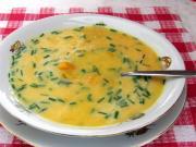 Tekvicová polievka pre deti