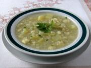 Kalerábová polievka pre deti