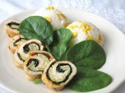 Kuracie špenátovo-vaječné roládky