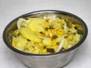 Zemiakový šalát s kukuricou bez majonézy
