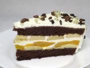 Smotanovo-piškótová torta