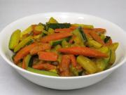Zeleninové sabdži s cuketou