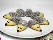 Vianoční ježkovia so slivkami