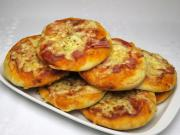 Šunková mini pizza