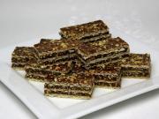 Karamelovo čokoládové oblátky s arašidmi