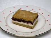 Tvarohový koláč s višňami