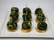 Špenátové gulôčky s morčacím mäsom