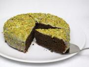 Čokoládovo maková tortička