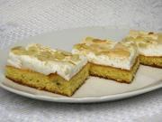 Sladký snehový koláč