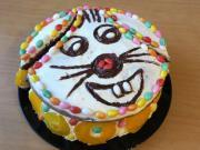 Veselá veľkonočná torta Zajko