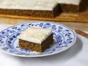 Jemný tekvicový koláč so skyrom