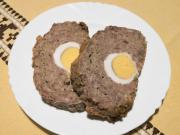 Bravčovo-hovädzia sekaná s vajcom