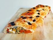 Štrúdľa plnená tekvicou a balkánskym syrom